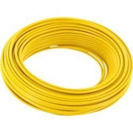 Spojovací drát BELI-BECO 1 x 0.20 mm², vnější Ø 0.50 mm, žlutá, 10 m