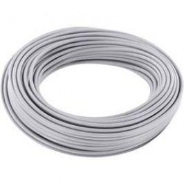 Spojovací drát BELI-BECO 1 x 0.20 mm², vnější Ø 0.50 mm, šedá, 10 m