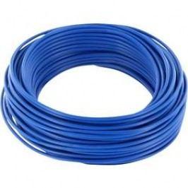 Spojovací drát BELI-BECO 1 x 0.20 mm², vnější Ø 0.50 mm, modrá, 10 m