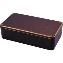 Univerzální pouzdro Hammond Electronics 1590WBXBK 1590WBXBK, 254 x 70 x 49.5 , hliník, černá (RAL 9005), 1 ks