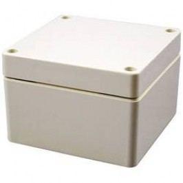 Plastové pouzdro IP66 Hammond Electronics, (d x š x v) 160 x 160 x 90 mm, šedá (1554SGY)