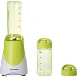 Smoothie maker Basetech BL05, 300 W, světle zelená, bílá