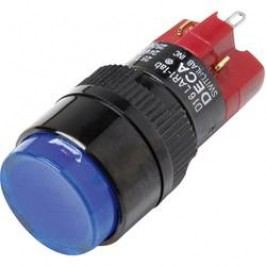 Tlačítkový spínač DECA 1x vyp/zap D16LAR1-1abCB, 250 V/AC, 5 A, 1 ks