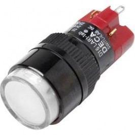 Tlačítkový spínač DECA 1x vyp/zap D16LAR1-1abGW, 250 V/AC, 5 A, 1 ks
