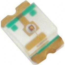 SMD LED HuiYuan 0805B2C-KPC-B, 3.2 V, 25 mA, 120 °, 100 mcd, modrá