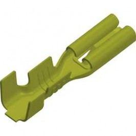 Faston zásuvka odolný proti vibracím 2.8 mm x 0.8 mm 180 ° bez izolace mosaz 3769h08.60 1 ks