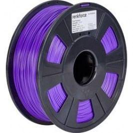Vlákno pro 3D tiskárny Renkforce 01.04.01.1113, PLA plast, 1.75 mm, 1 kg, purpurová