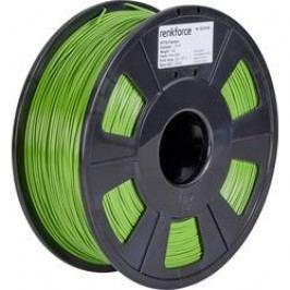 Vlákno pro 3D tiskárny Renkforce 01.04.18.1109, PETG plast, 1.75 mm, 1 kg, zelená