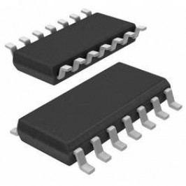 Operační zesilovač Microchip Technology MCP6024-I/ST, TSSOP-14, víceúčelový