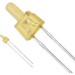 LED s vývody Panasonic LN482YPX, typ čočky kulatý, 2 mm, 30 mA, 2 mcd, 2.2 V, jantarová