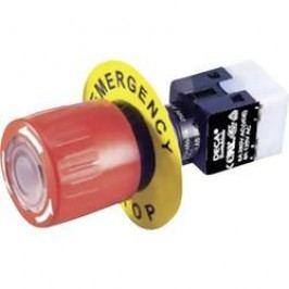 Nouzový vypínač DECA ADA16E6-R11-B1KR, 250 V/AC, 5 A, 1 rozpínací kontakt, 1 spínací kontakt, IP65, 1 ks