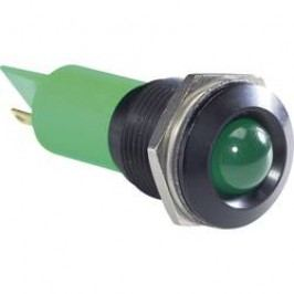LED signálka APEM Q16P1BXXR24E, IP67, 24 V/DC, červená