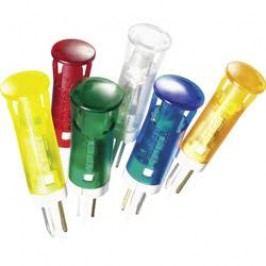 LED signálka APEM QS121XXW12, 12 V/DC, bílá