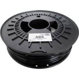 Vlákno pro 3D tiskárny German RepRap 100374, ABS plast, 3 mm, 750 g, černá
