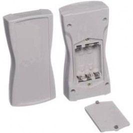 Plastová krabička Bopla BOS STREAMLINE BS 400 F-7035, 159.4 x 77.9 x 33.5 mm, plast, světle šedá , 1 ks