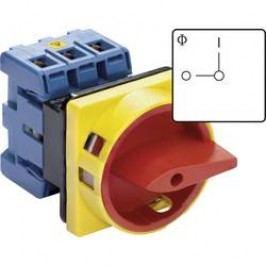 Odpínač odblokovatelný Kraus & Naimer, 80 A, 1 x 90 °, červená, žlutá, KG80 T203/01 E, 1 ks