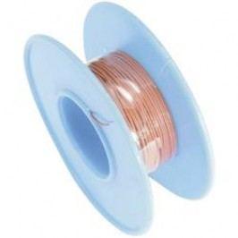 Navíjecí drát TRU COMPONENTS Wire Wrap, 1 x 0.02 mm², vnější Ø 0.29 mm, červená, 15 m