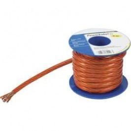 Zemnicí kabel TRU COMPONENTS 1 x 16 mm², vnější Ø 7.76 mm, červená, transparentní, 5 m