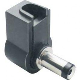 Nízkonapěťový konektor TRU COMPONENTS 1582321, 12 V/DC, 3 A, zástrčka, zahnutá, 3.8 mm, 1 mm, 1 ks