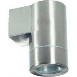 Venkovní nástěnné svítidlo, GU10, max. 1x 35 W, nerez