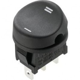Kolébkový spínač s aretací TRU COMPONENTS TC-R13-211C-02, 250 V/AC, 10 A, 1x zap/zap, 1 ks