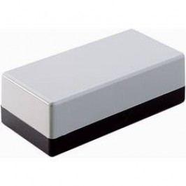 Univerzální pouzdro TRU COMPONENTS TC-2003 GR-SW203 1588556, 160 x 83 x 52 , ABS, šedočerná, 1 ks