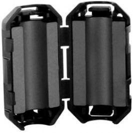 Dělený feritový filtr TRU COMPONENTS TC-KFR50, 120 Ohm, Ø kabelu (max.) 5 mm, 1 ks