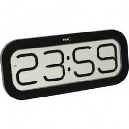 DCF nástěnné hodiny TFA BimBam 60.4514.01, černá