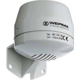 Houkačka Werma Signaltechnik 482.052.55, stálý tón, 24 V/DC, 92 dB, IP33