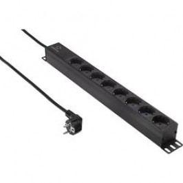 Zásuvková lišta vhodná pro skříň síťové rozvodny Renkforce RF-4551090, velikost racku (HE) 1 U, 19