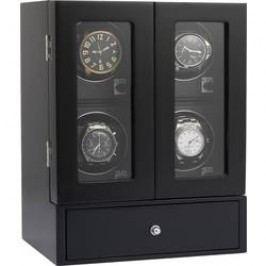Stojan s natahovačem hodinek Eurochron ECUB072 9013c1a vhodný pro 4 hodinky