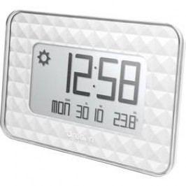 DCF nástěnné hodiny s předpovědí počasí Oregon Scientific JW 208 silver, bílá