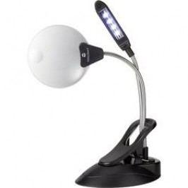 Stolní lupa s LED osvětlením TOOLCRAFT 1505876, 2x/4x, Ø lupy 102 mm