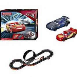 Autodráha Carrera GO!!!, startovací sada Disney Cars 3 Finish First 20062418