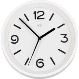 DCF nástěnné hodiny ADE CK 1710 CK1710, vnější Ø 250 mm, bílá