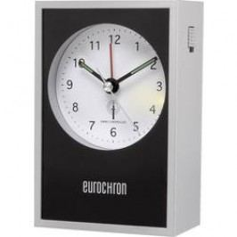 DCF budík Eurochron EFW 7000 stříbrná, černá