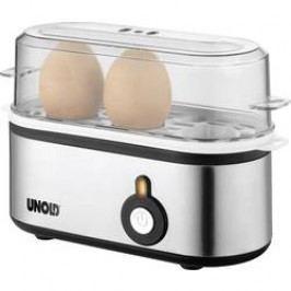 Vařič vajec Unold Mini, nerezová ocel, černá