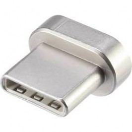 USB 2.0 adaptér Renkforce MagnetSafe RF-4724451, zlatá