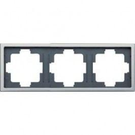 Trojitý krycí rám GAO INOX 3-fack