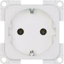 Zásuvka s ochranným kontaktem inprojal elektrosysteme 102556, vestavný, bílá