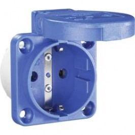 Zásuvka se sklopným víkem PCE för Maskin 601.450.06, IP54, modrá