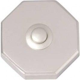 Zvonkové tlačítko Heidemann 70081 Tessin, max. 24 V/1 A, nikl