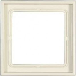 Krycí rámeček Jung LS 990, LS981W, krémově bílá