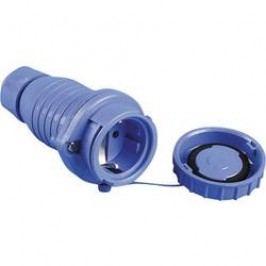 Zásuvka na kabel, 197.6850, IP68, schuko, modrá