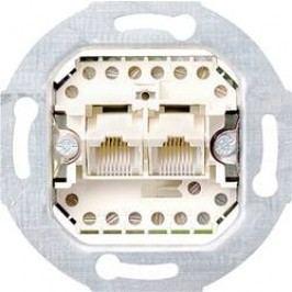 Telefonní zásuvka bez krytu Gira, 019000, UAE/IAE (analogová), 2x 8pólová