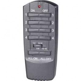 Dálkový ovladač RSLT, 16 kanálů, černá