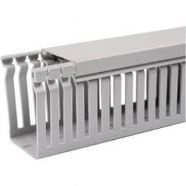 Elektroinstalační lišta OBO Bettermann, 6178016, 80 x 40 mm, 2 m, šedá