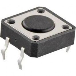 Impulsní tlačítko, TC-12XD-X, 12 V/DC, 0,05 A