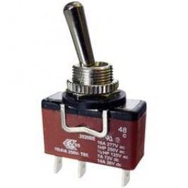 Páčkový spínač Arcolectric C3920BEAAA, 250 V/AC, 10 A, 1x zap/vyp/zap, IP67, 1 ks