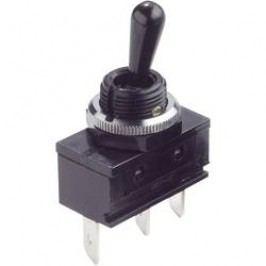 Ochranný přepínač splastovou otočnou páčkou 250 V/AC 16 A Arcolectric C1710ROAAE 1 ks